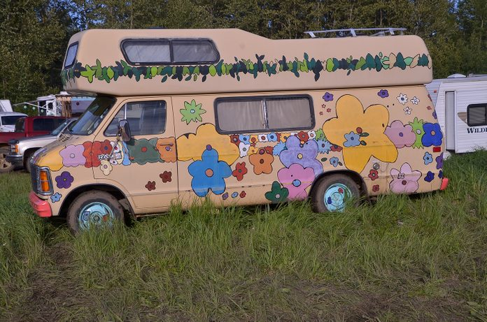 Road Trip Trailers - Hippie Bus