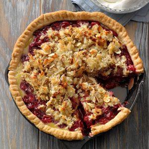 Macaroon Cherry Pie