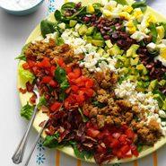 Mediterranean Cobb Salad recipe