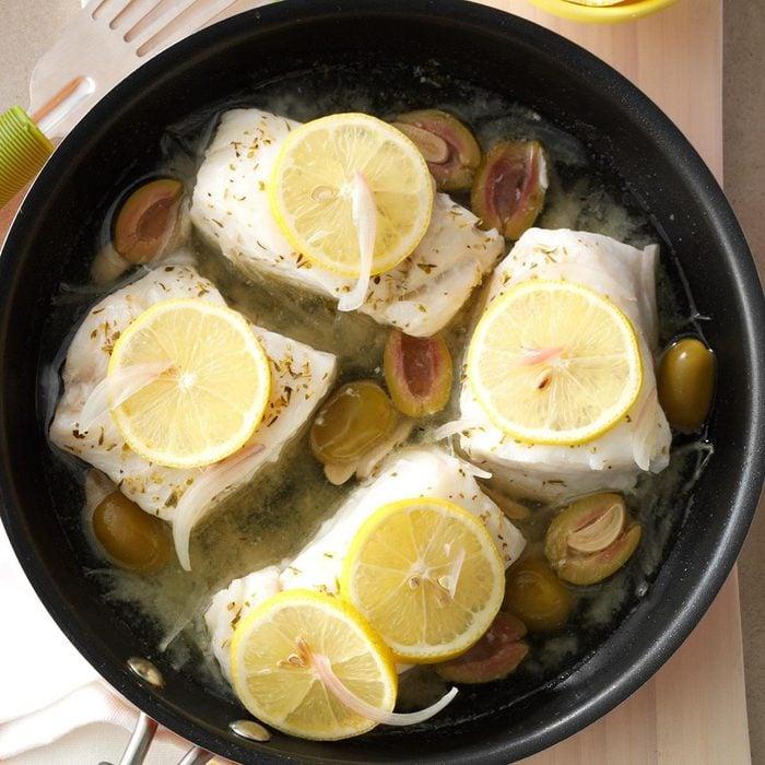 Day 1 Dinner: Cod and Asparagus Bake
