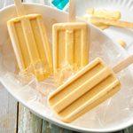 Sweet Potato Frozen Yogurt Pops