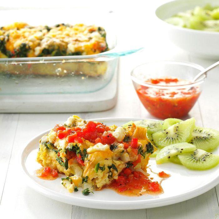 Mediterranean Veggie Brunch Puff recipe