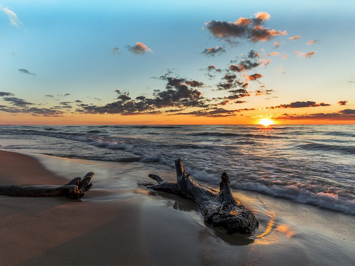 Lost year - Grand Bend Ontario sunset