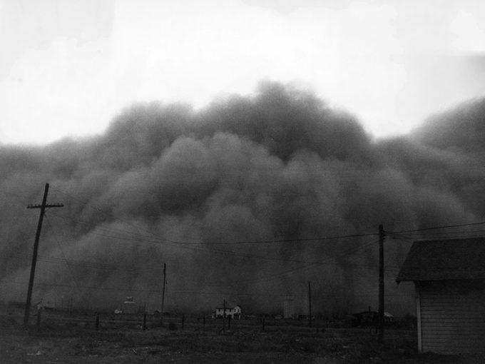 Highest temperature in Canada - dust storm in 1936