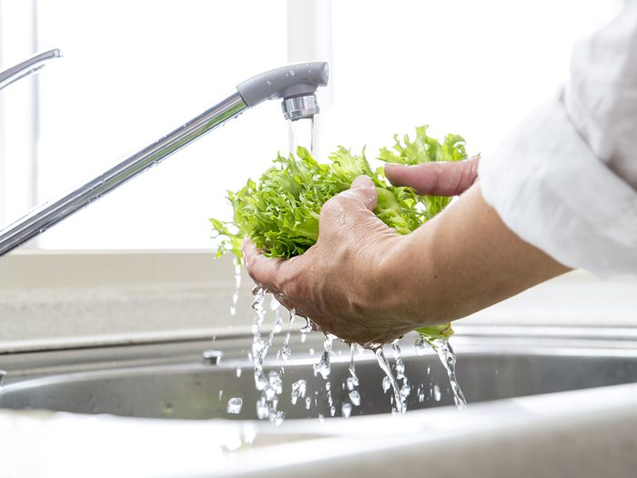 How to wash lettuce - food safety tips