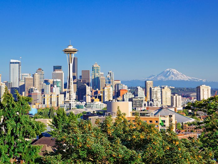 Mind-blowing facts - Seattle
