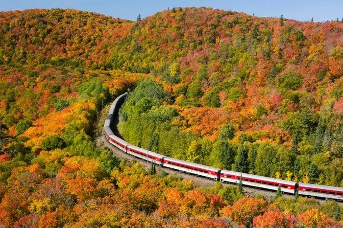 Train Across Canada - Agawa Canyon Tour Train