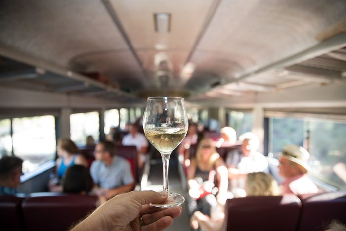 Train Across Canada - Bottleneck Grand Sommelier Express