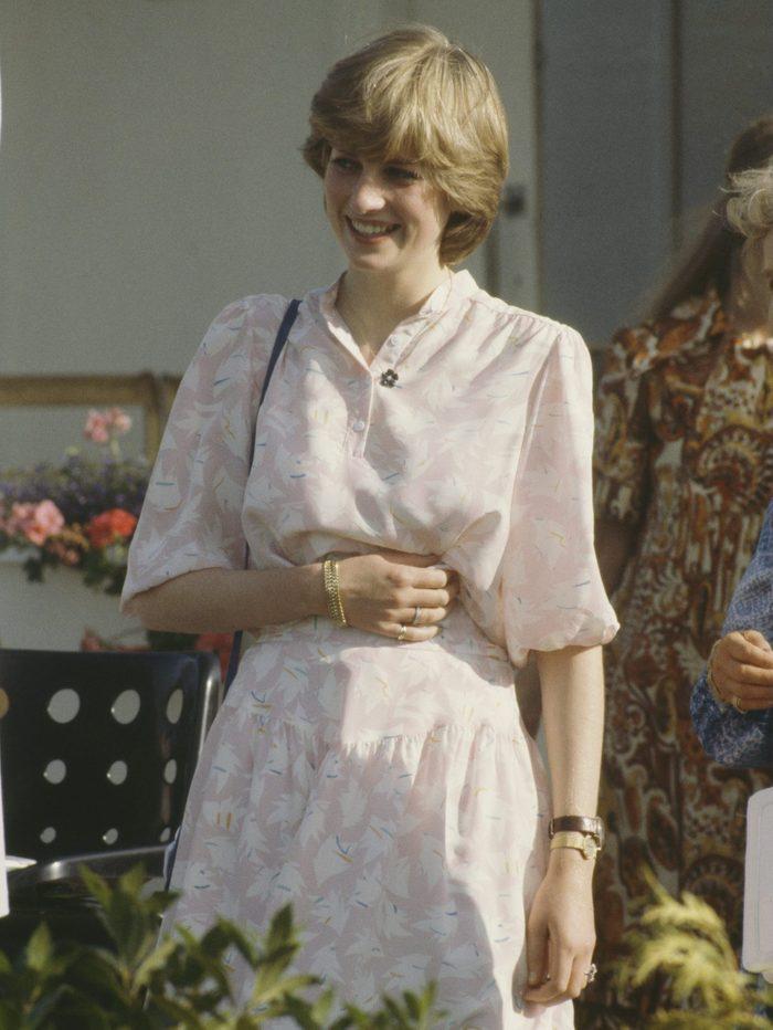 Lady Diana At Polo