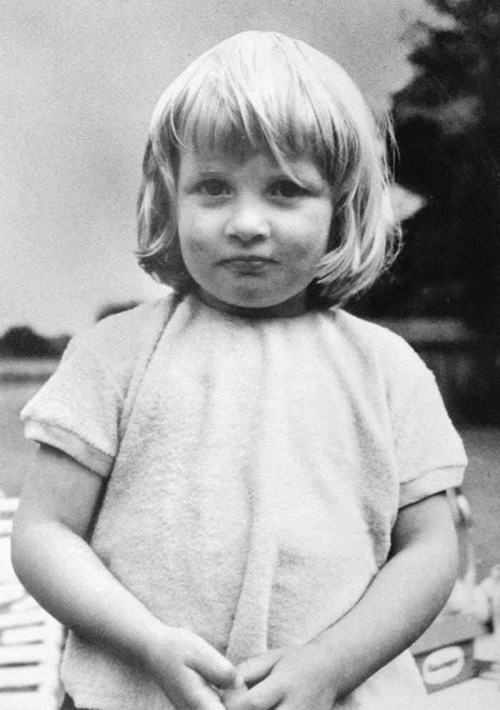 Young Princess Diana