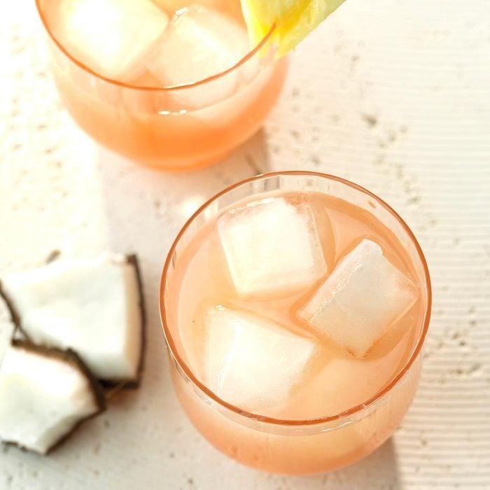 Guava Coconut Rum Cocktail recipe