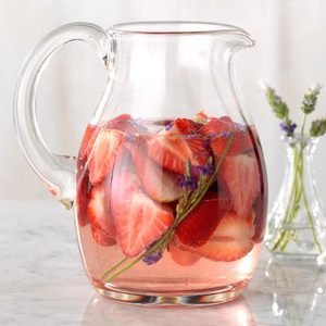 Strawberry-Lavender Infused Water