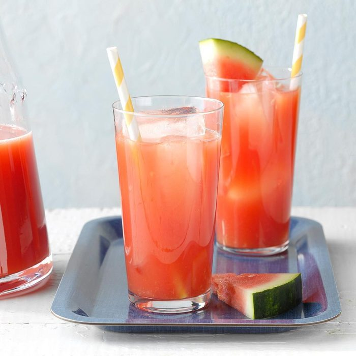 Summertime Watermelon Punch for a Crowd recipe