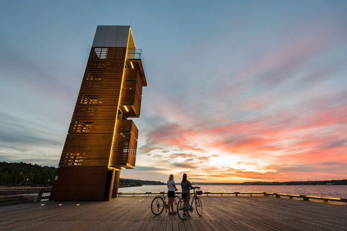 Best place to watch the sunset in every province - Quebec City