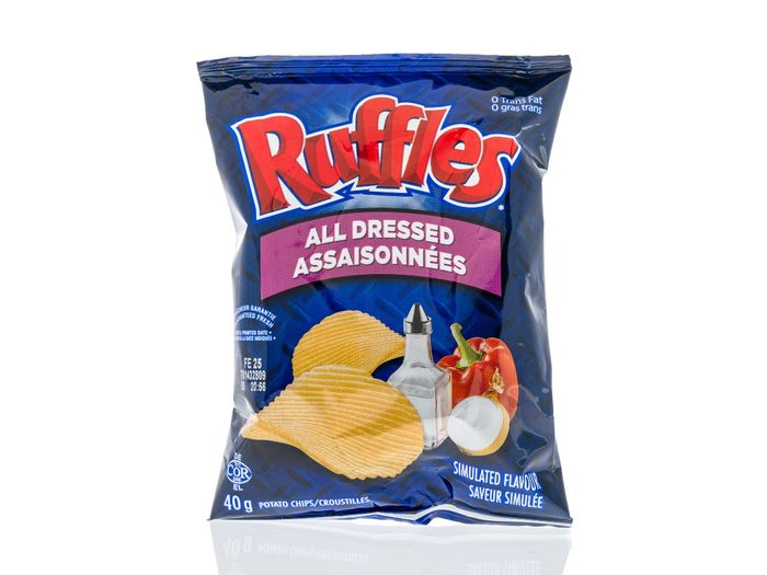 Canadian Snacks - All Dressed Chips