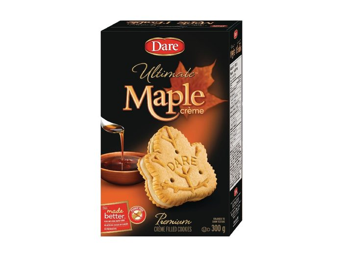 Canadian Snacks Maple Creme Cookie