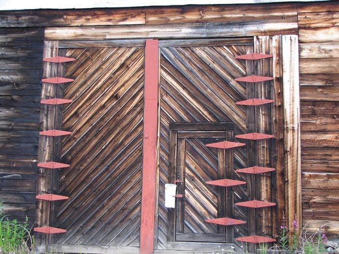 Doors Across Canada - Barn Door With Hinges