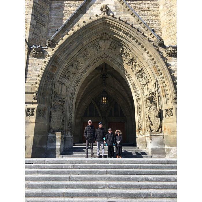 Doors Across Canada - Canadian Parliament Buildings Door