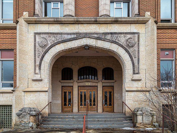 Doors Across Canada - Fort William Collegiate Institute Richard Main
