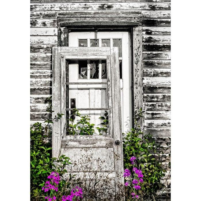 Doors Across Canada - rustic door on door