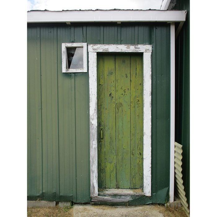 Doors Across Canada - Green Farm Shed
