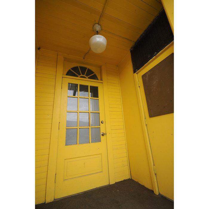 Doors Across Canada - sunny yellow doorway