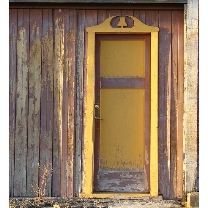 Doors Across Canada - Yellow Door Frame