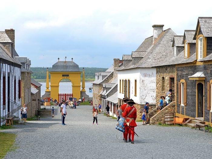 Hidden gems of Canada - Fortress of Louisbourg in Nova Scotia