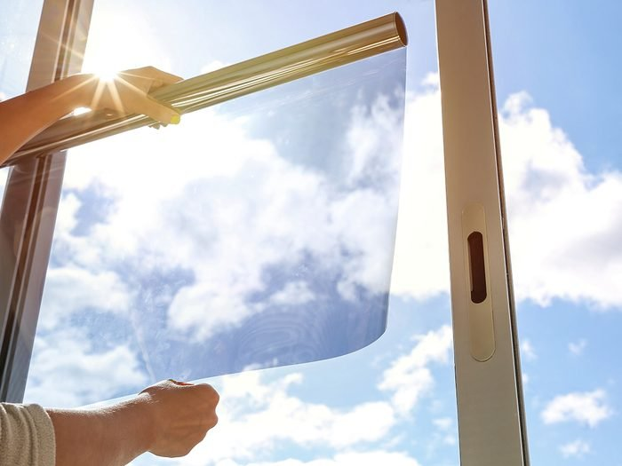 How to cool down a room without AC - insulated window film