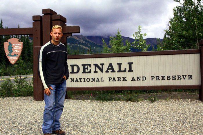 Alaska Adventure - Jason At Denali Park Alaska 300