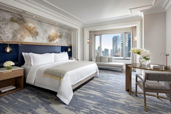 St. Regis Toronto - King bed bedroom