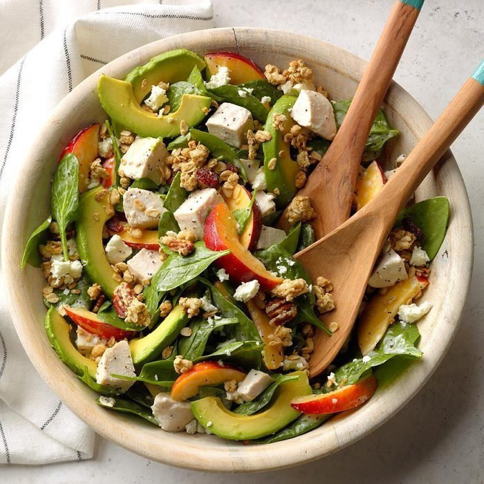 Chicken, Nectarine and Avocado Salad recipe