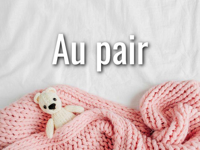 Baby Terms - Au Pair