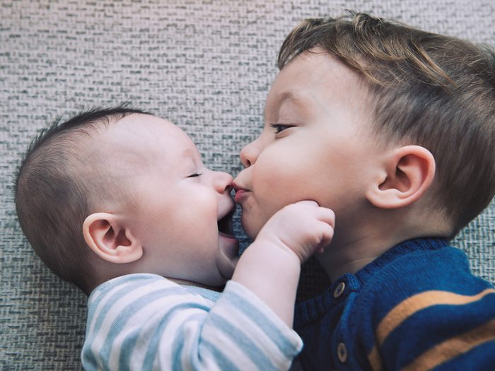 Baby terms - baby and big brother