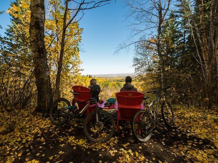 Bike Trails - Manitoba Reeves Ravine Trail