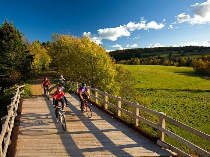 Bike Trails - Prince Edward Island Confederation Trail
