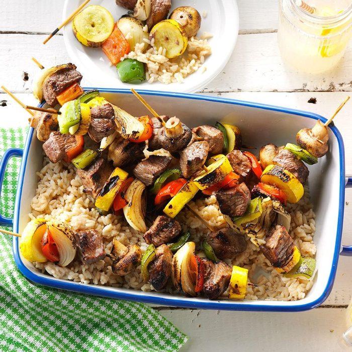 Summer Steak Kabobs recipe