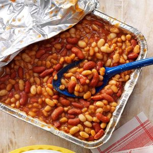 Quick Barbecued Beans