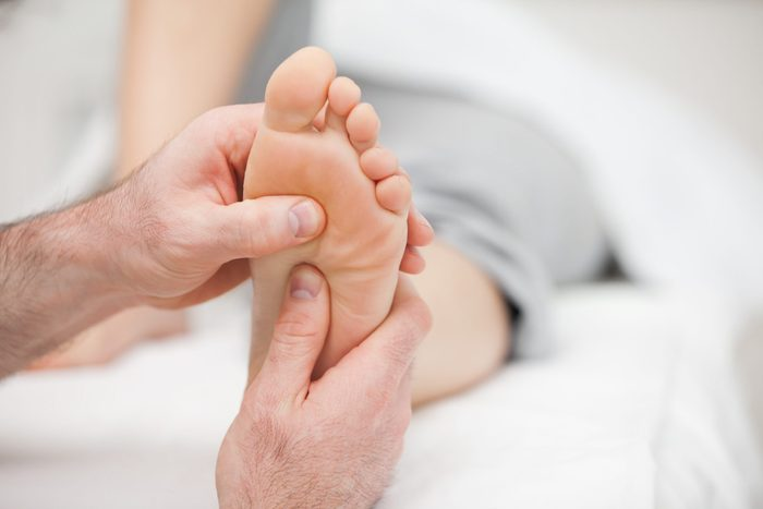 Foot symptoms - High arch