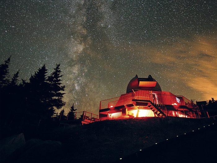 Hidden Gems In Quebec - Mont-Mégantic International Dark Sky Reserve