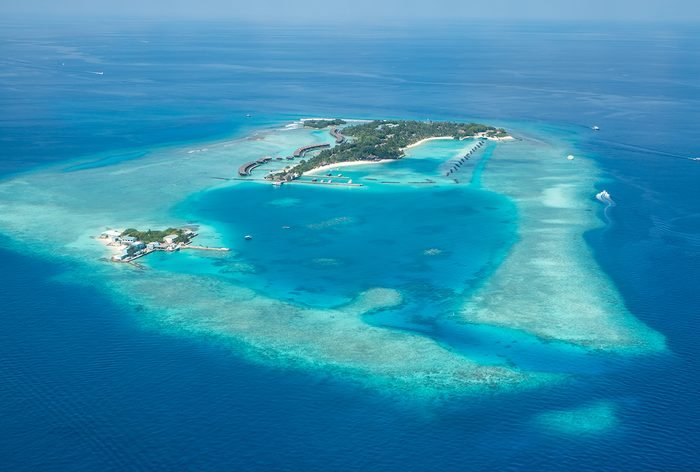 Ocean words - Atoll in the Maldives