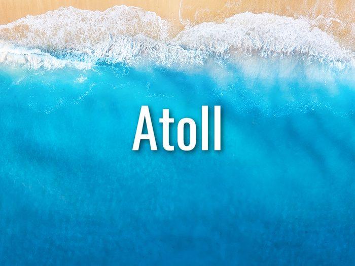 Ocean Words - Atoll