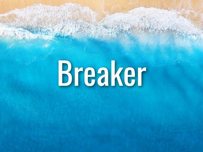 Ocean Words - Breaker