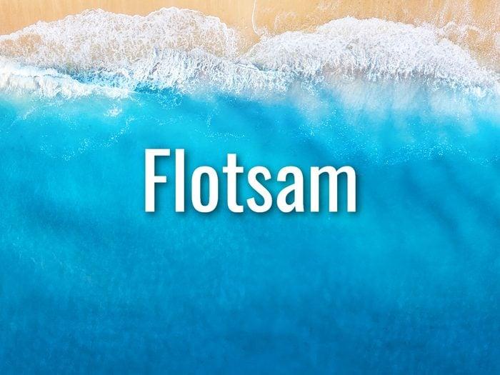 Ocean Words - Flotsam