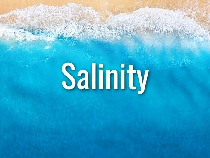 Ocean Words - Salinity