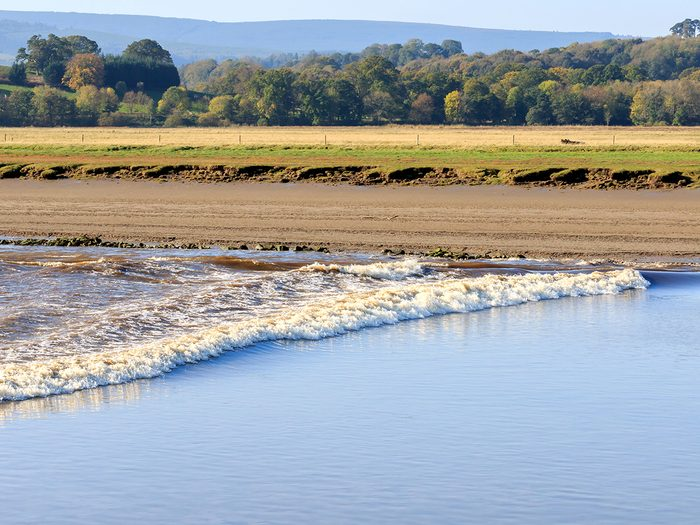 Ocean words - tidal bore
