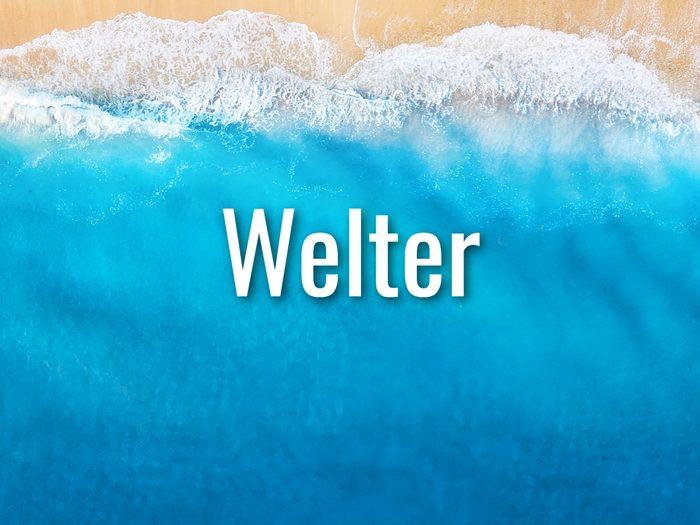 Ocean Words - Welter