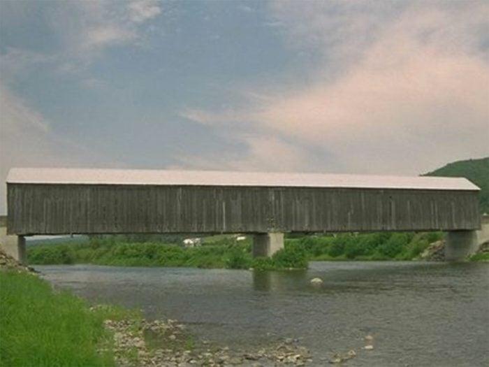 Covered Bridges - Boniface Covered Bridge in Rivière-Verte, New Brunswick