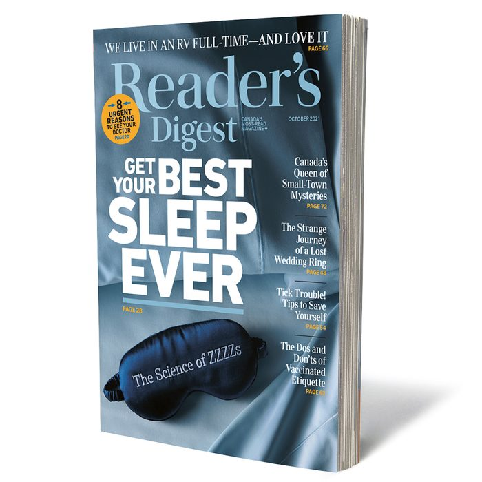 Reader's Digest Canada - October 2021 issue 3D