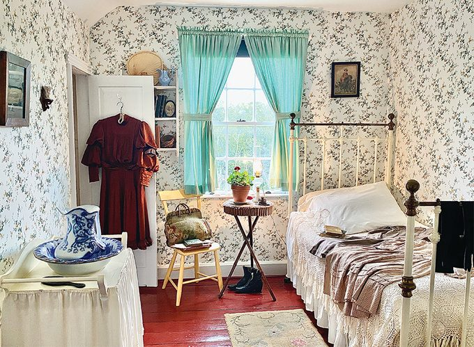 Atlantic Canada Travel - Anne's room at Green Gables Heritage Place